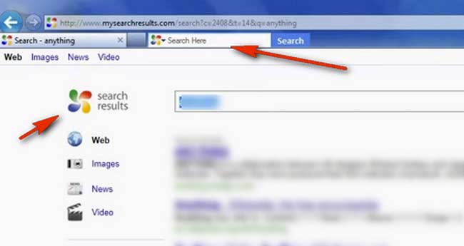 Search here toolbar