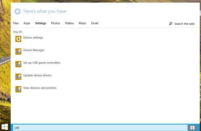Cortana в Windows 10 build 9901