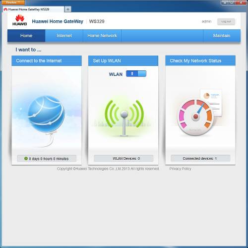 How to configure wifi router Huawei WS329 - Comp-Web-Pro