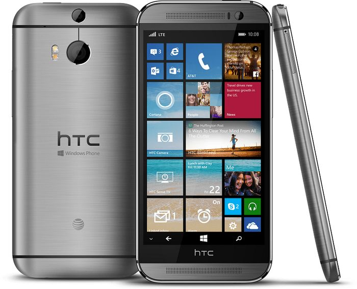 Официально: HTC One (M8) с Windows Phone 8.1
